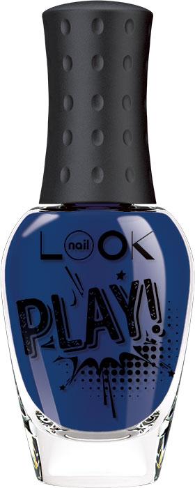 nailLOOK Лак для ногтей Trends Play, тон ярко-синий, 8,5 мл лак для ногтей naillook trends donut bar banana iced sprinkles 2 х 3 мл