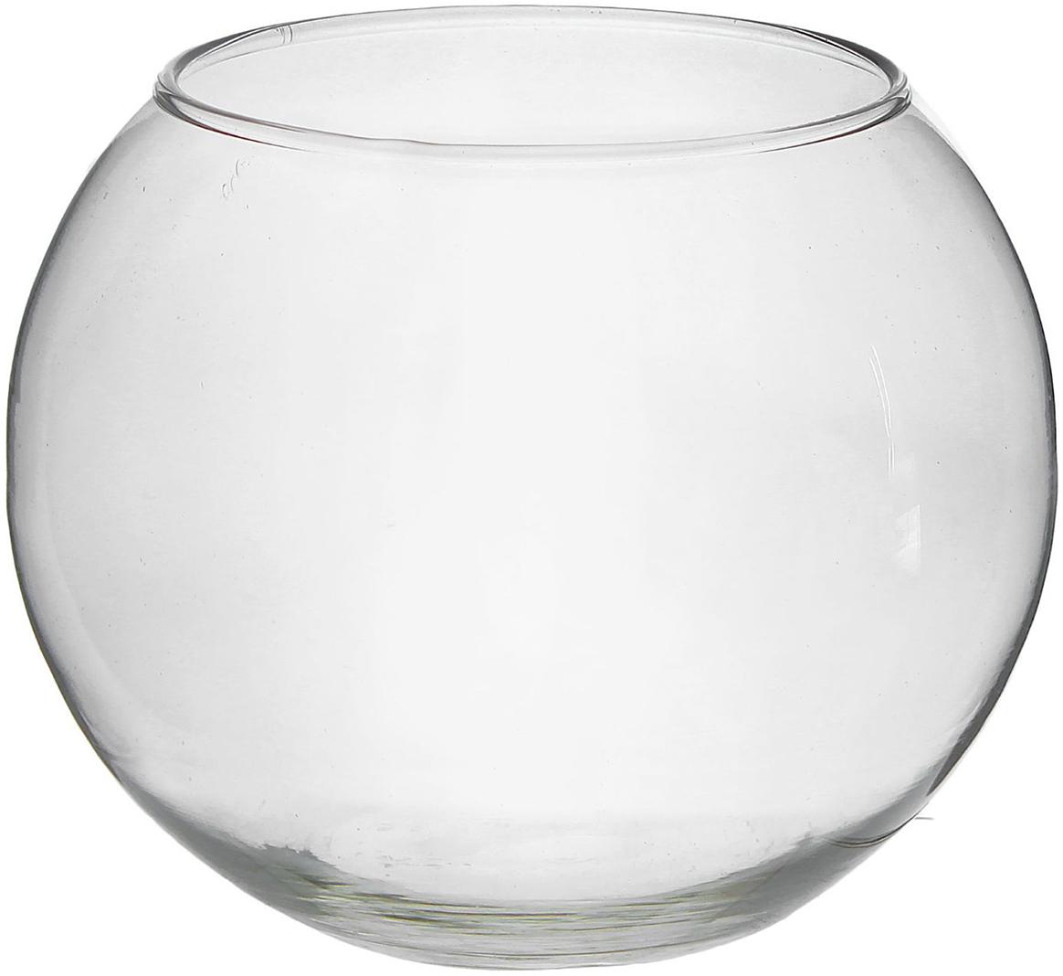 Ваза Evis Шар, 5 л ваза шар evis сиреневый мираж цвет сиреневый 3 л