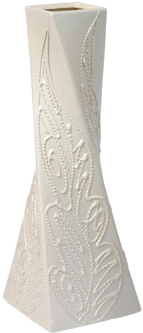 Ваза Керамика ручной работы Эквилибриум, цвет: белый ваза керамика ручной работы лиана цвет светло коричневый средняя 1130557
