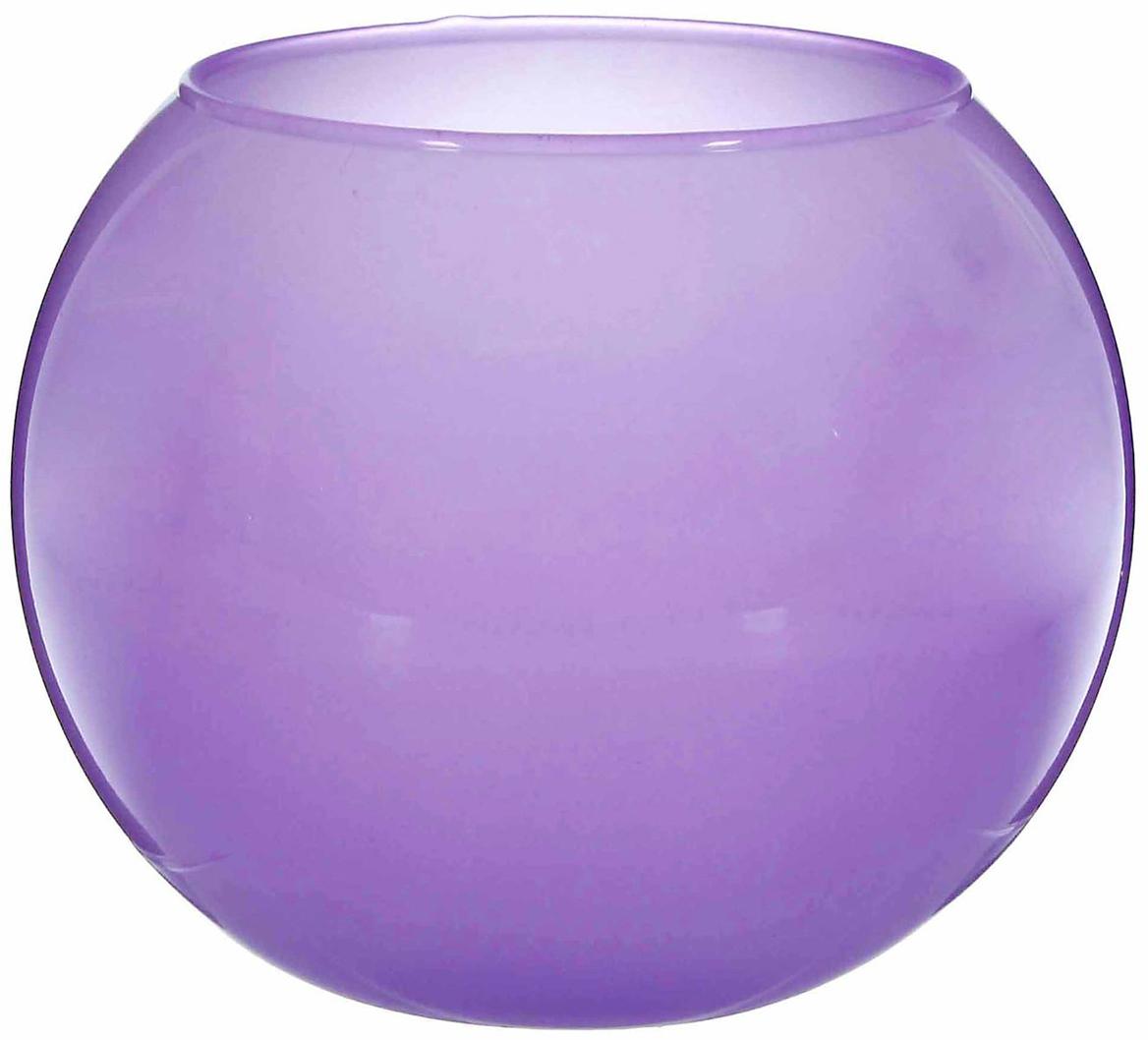 Ваза-шар Evis Сиреневый мираж, цвет: сиреневый, 3 л ваза шар evis сиреневый мираж цвет сиреневый 3 л