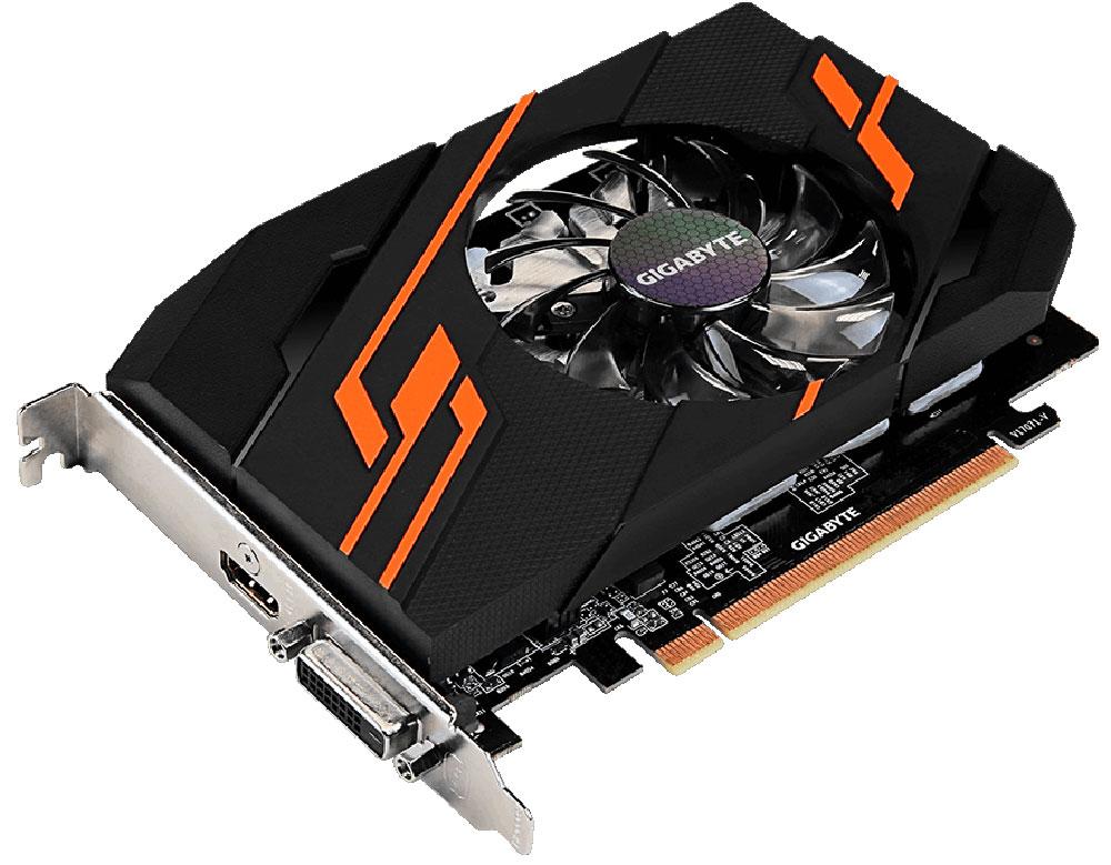 Видеокарта Gigabyte GeForce GT 1030 OC 2GB, GV-N1030OC-2GI