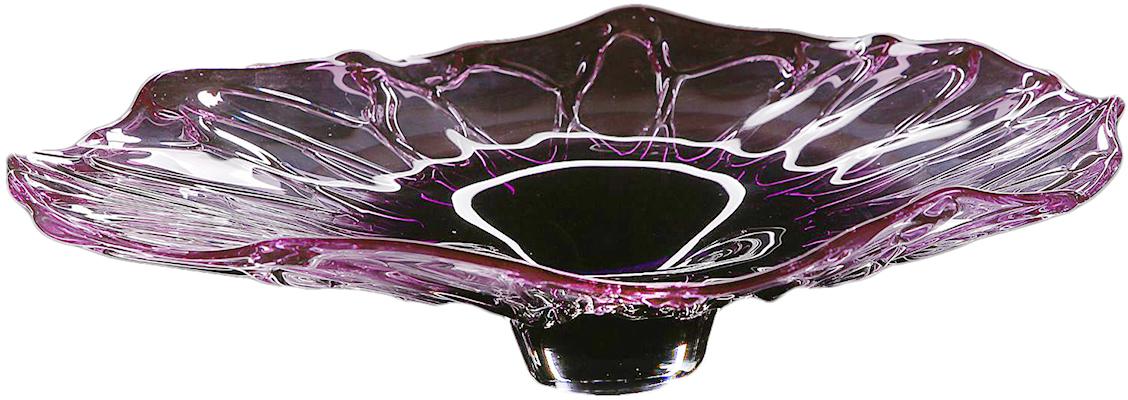 """Ваза """"Лилия"""", цвет: фиолетовый, 14 см"""