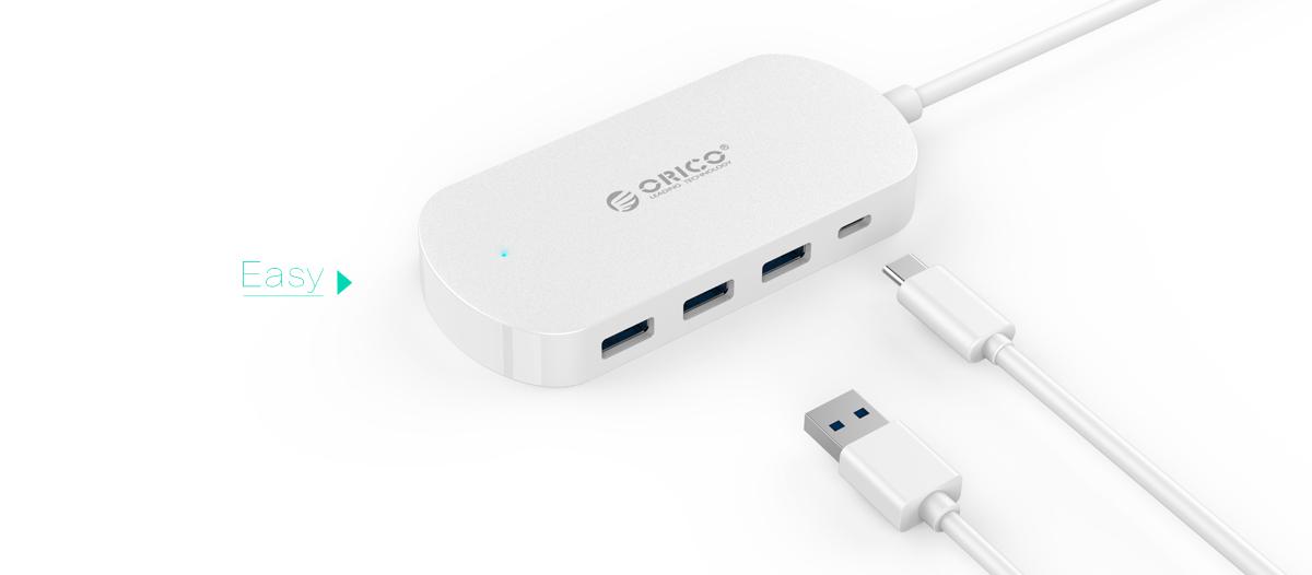 Orico HCD1-PRO, White USB-концентратор недорого