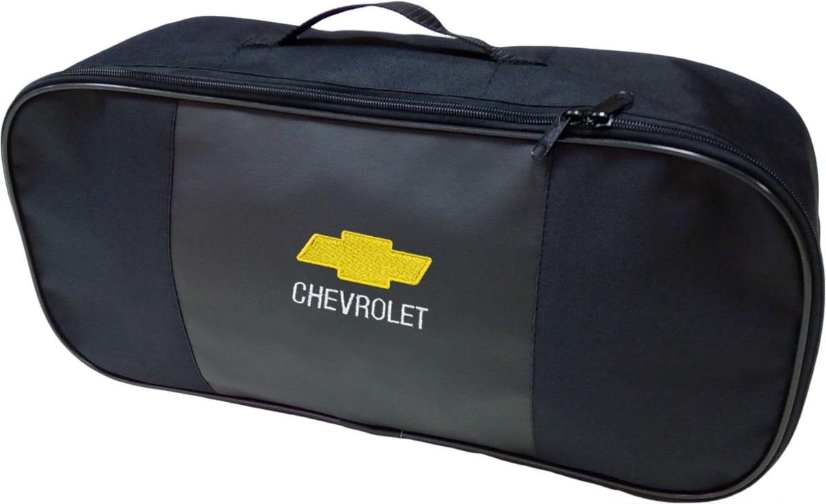 Набор аварийный в сумке Auto Premium, с логотипом Chevrolet + жилет светоотражающий, размер XL. 67457 аптечка автомобильная первой помощи auto premium