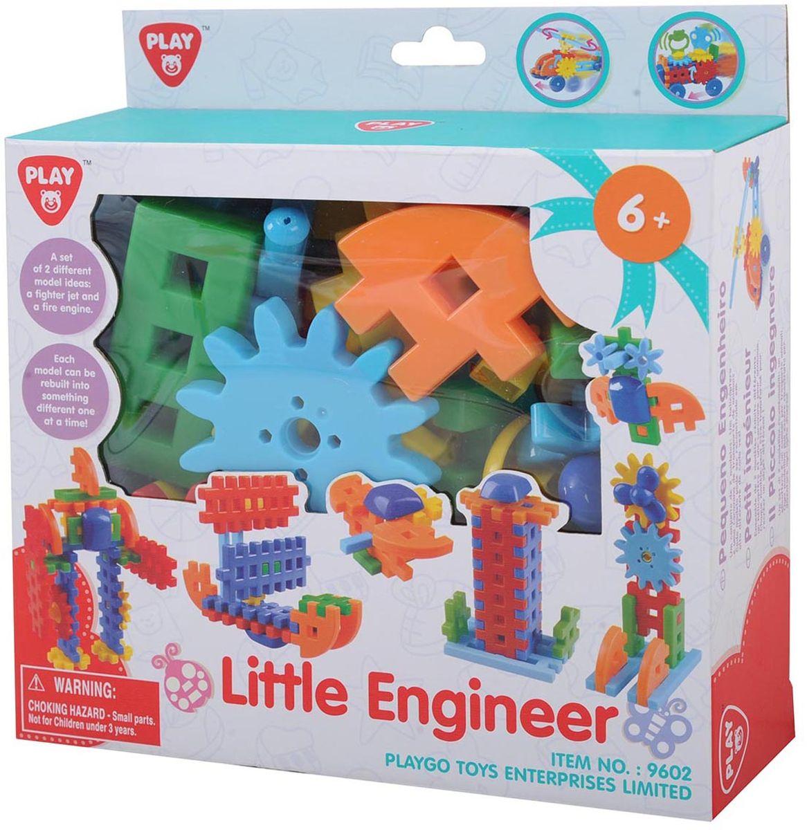 Playgo Игровой набор Юный механик playgo набор с пластилином и аксессуарами в корзине 8750