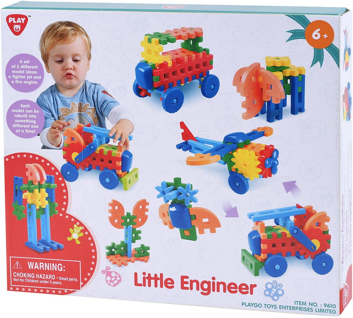 Playgo Игровой набор Маленький инженер