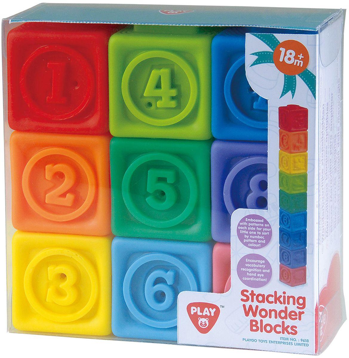 PlayGo Кубики Play 9618 электрокофеварка playgo электрокофеварка play 3150
