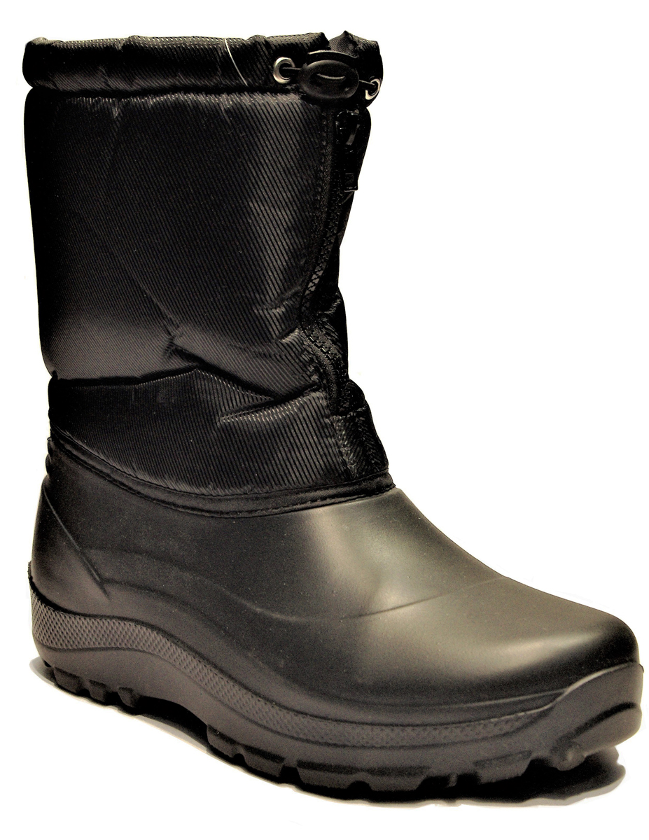 Норды зимние мужские Дарина Буран, цвет: черный. Размер 42-43