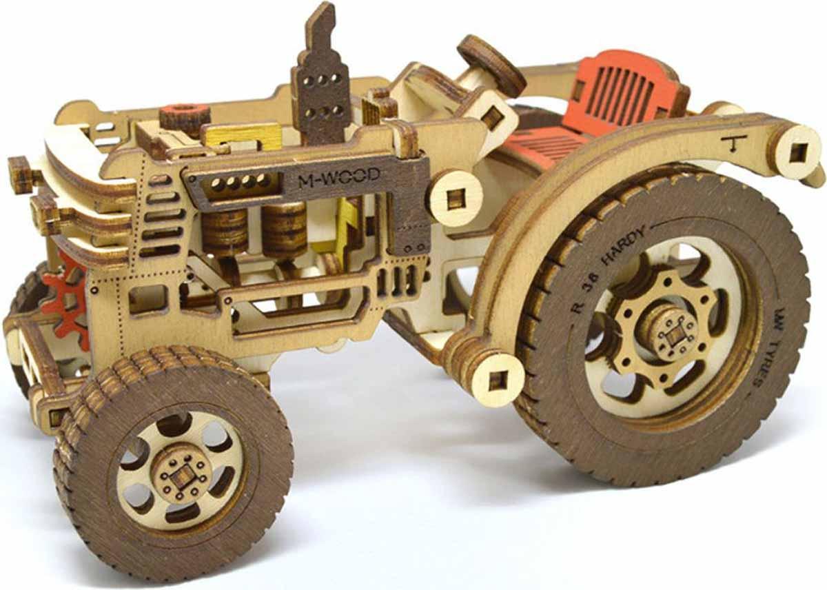 M-Wood Конструктор Трактор с прицепом Hardy