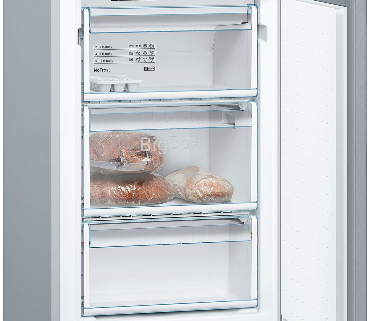 Холодильник Bosch KGN39NL14R, серебристый Bosch