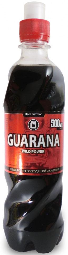 Энергетический напиток aTech Nutrition Guarana Wild Power, гуарана, 500 мл энергетический напиток bbb guarana shots вишня 20 ампул 1500 мг в ампуле