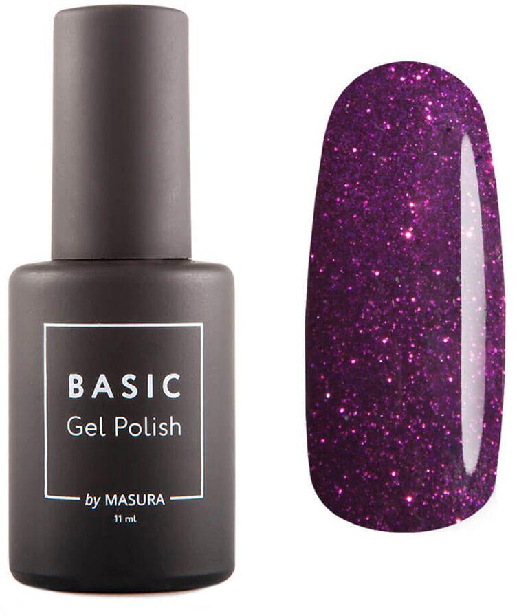 Masura Гель-лак BASIC Пурпур, 11 мл masura basic гель лак с 3d эффектом 35 мл