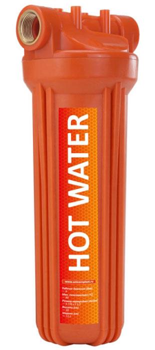 """Корпус фильтра для горячей воды Unicorn """"FH2P HOT"""", 30 х 12,5 см, 8 бар, 3/4"""""""