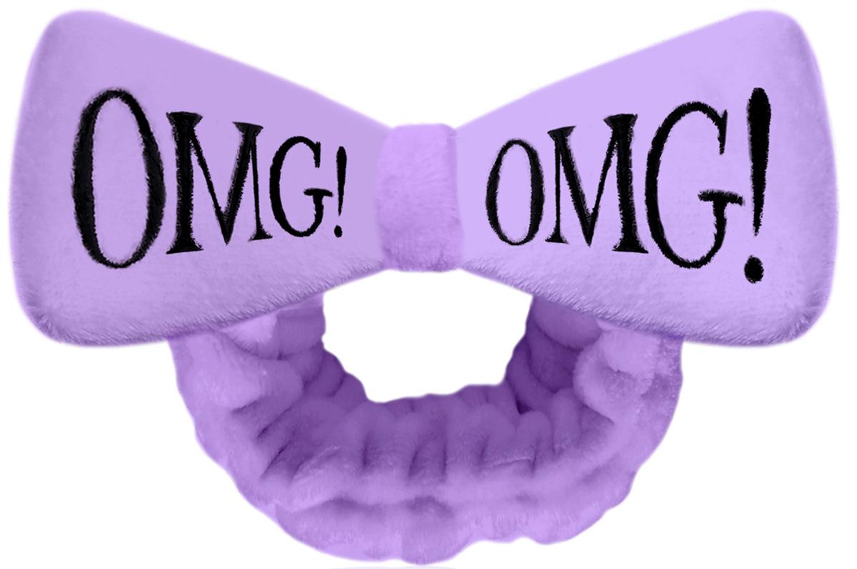 купить Double Dare OMG! Бант-повязка для фиксации волос во время косметических процедур, цвет: лавандовый онлайн