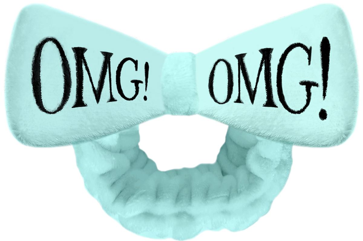 купить Double Dare OMG! Бант-повязка для фиксации волос во время косметических процедур, цвет: мятный онлайн