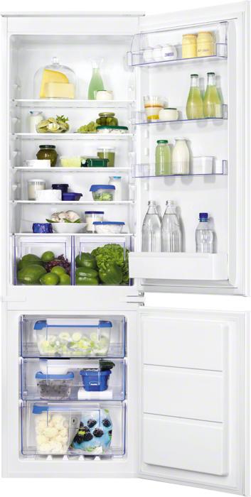 Zanussi ZBB 928651 S холодильник встраиваемый