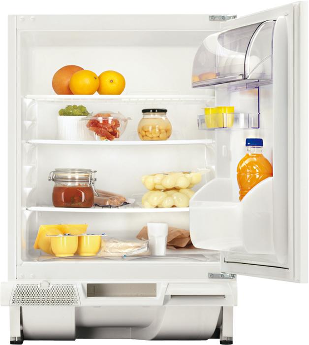 Холодильник Zanussi ZUA 14020 SA, встраиваемый, однокамерный, белый