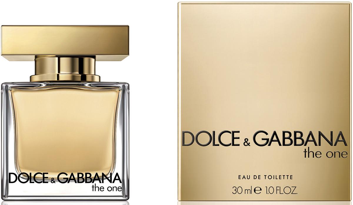 Dolce&Gabbana The One Туалетная вода, 30 мл3036285DGГлубокий и роскошный аромат, созданием которого Доминико Долче и Стефано Габбана отдали дань откровенному соблазну и женственности. Рекомендуем!