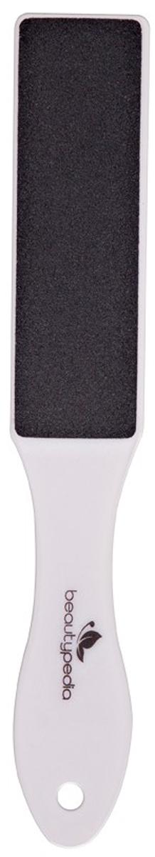 Beautypedia Терка для педикюра пластиковая, двухсторонняя. 6900888200179 терка для ног деревянная основа двухсторонняя solinberg ширина 60 мм