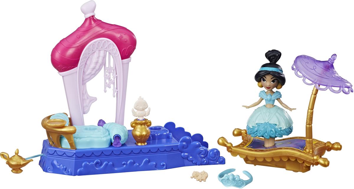 цены на Disney Princess Мини-кукла и транспорт Жасмин  в интернет-магазинах
