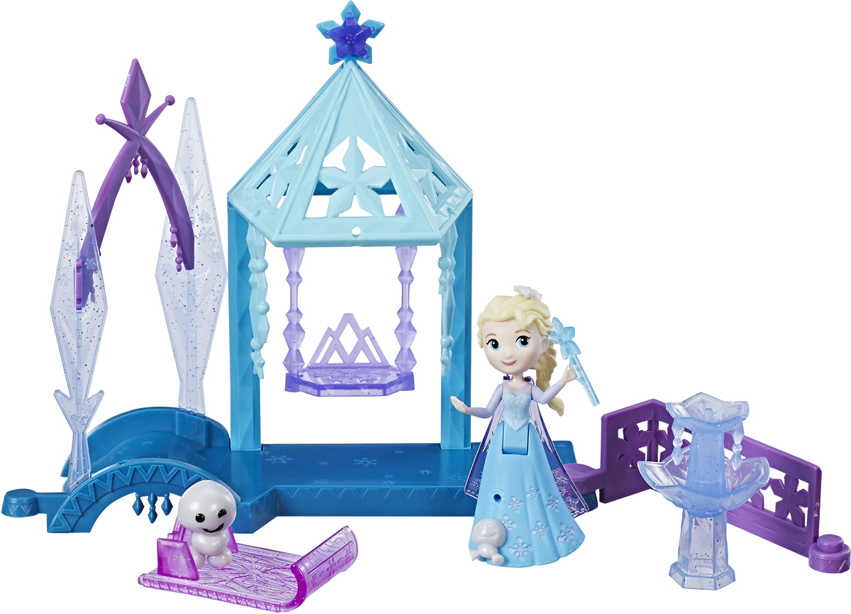 Disney Frozen Игровой набор Холодное сердцеДомик игровой набор hasbro disney frozen холодное сердце b5191 летний пикник