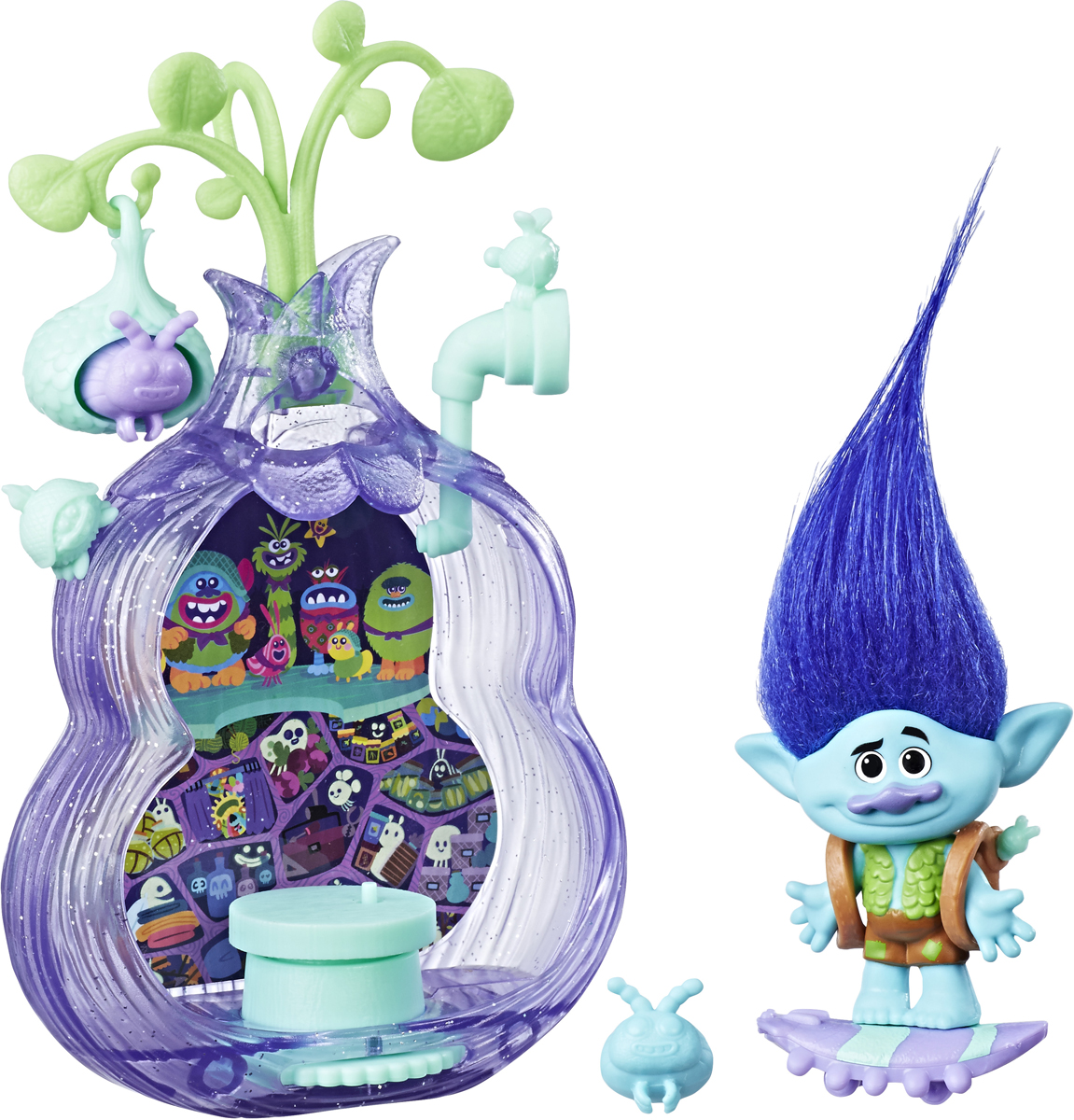Trolls Игровой набор Тролли Волшебный кокон фигурки героев мультфильмов trolls коллекционная фигурка trolls в закрытой упаковке 10 см в ассортименте