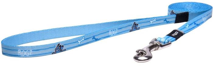 Поводок для собак Rogz Yo Yo, цвет: голубой, ширина 1,2 см. Размер S поводок для собак rogz yo yo цвет голубой ширина 1 2 см размер m