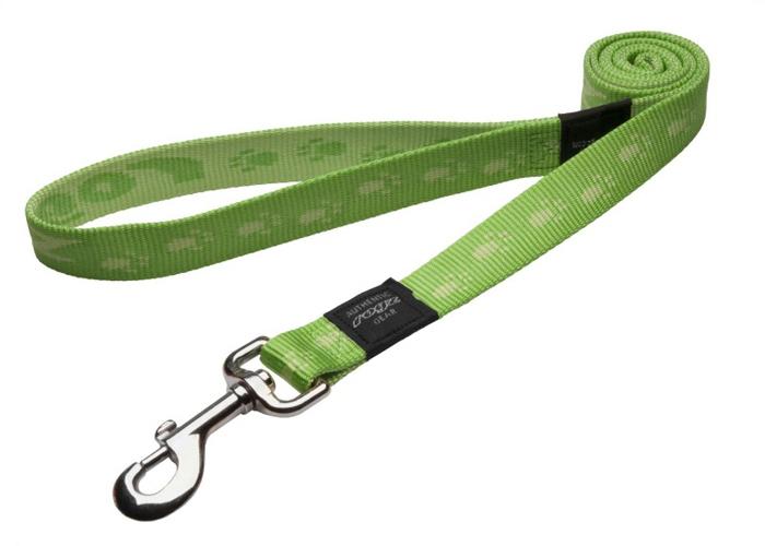 Поводок для собак Rogz Alpinist, удлиненный, цвет: зеленый, ширина 2,5 см. Размер XL поводок для собак rogz alpinist удлиненный цвет коричневый ширина 2 5 см размер xl hll27j