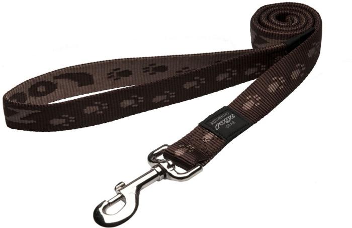 Поводок для собак Rogz Alpinist, удлиненный, цвет: коричневый, ширина 2,5 см. Размер XL. HLL27J поводок для собак rogz alpinist удлиненный цвет коричневый ширина 2 5 см размер xl hll27j