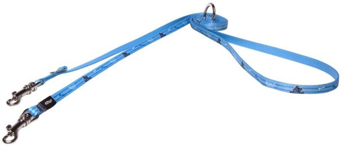 Поводок-перестежка для собак Rogz Yo Yo, ширина 8 мм. Размер XS rogz поводок перестежка для собак rogz yo yo xs 8мм 2 м розовый