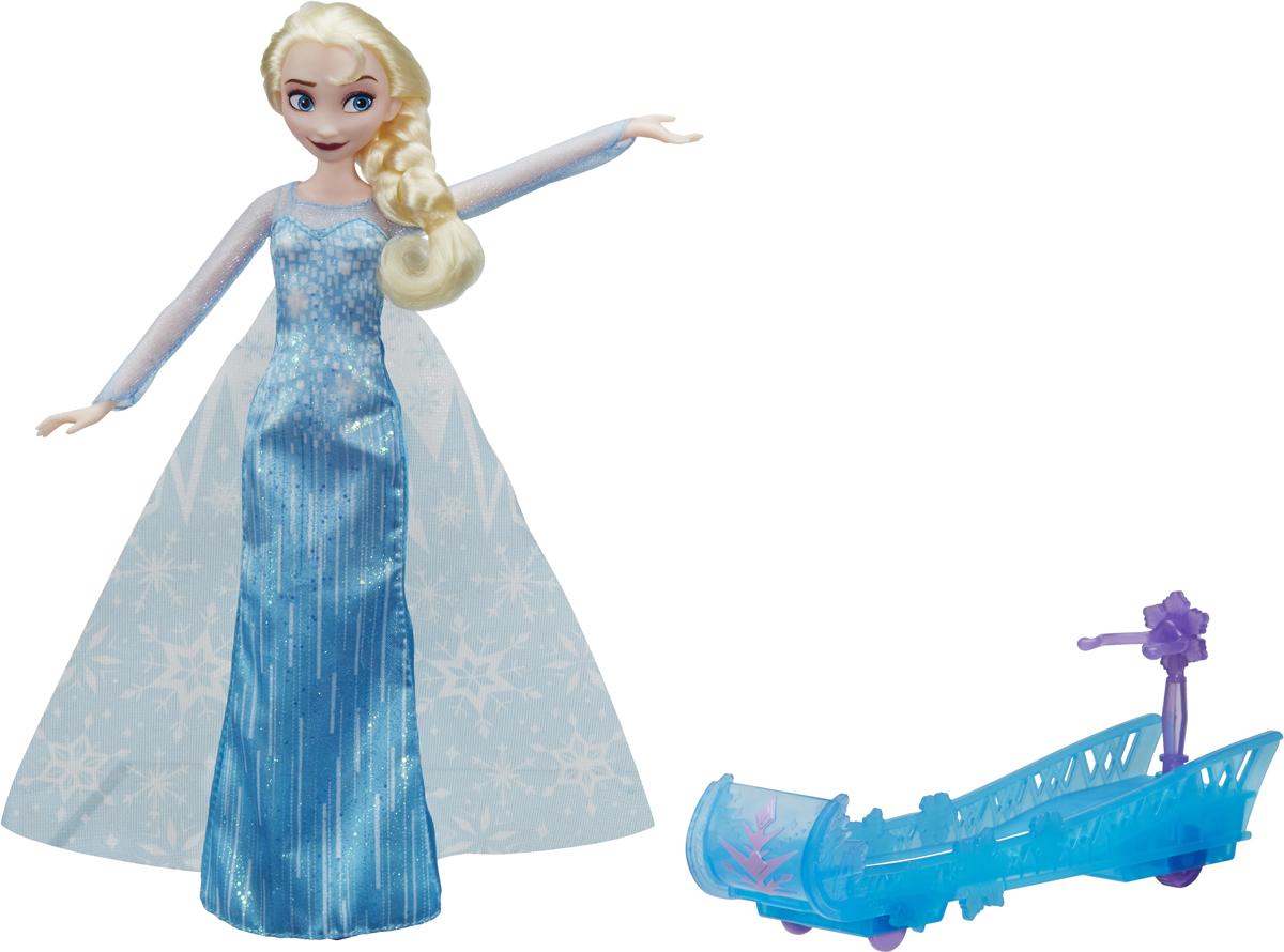 Disney Frozen Кукла Холодное сердце Эльза и санки disney мини кукла холодное сердце эльза в голубом платье 7 5 см