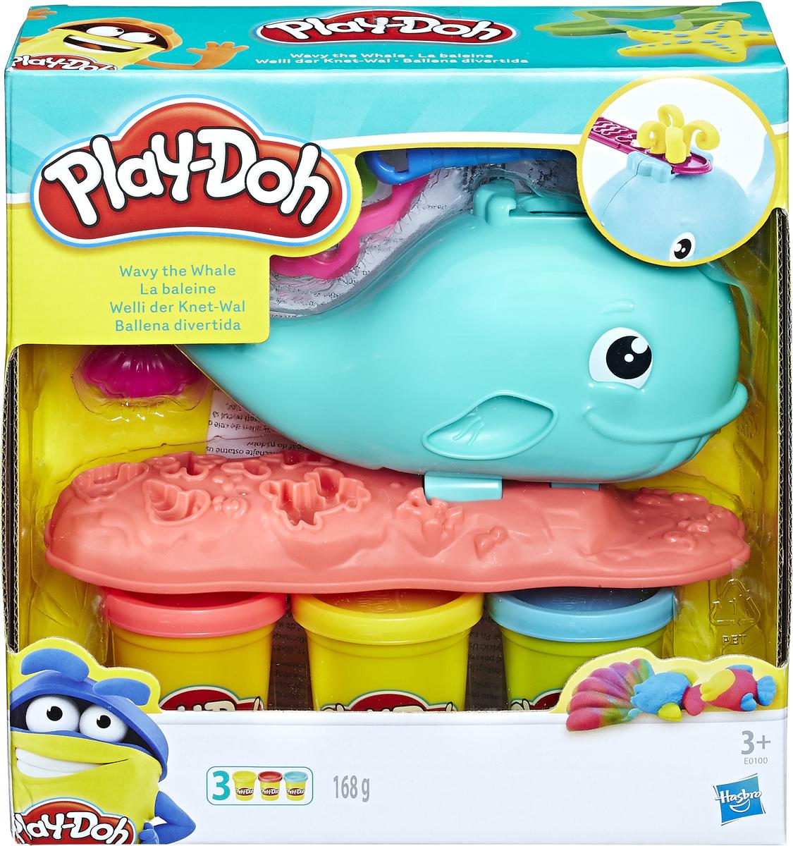 Набор для лепки Play-Doh Kitchen Creations Забавный китенок, E0100EU4 Play-Doh