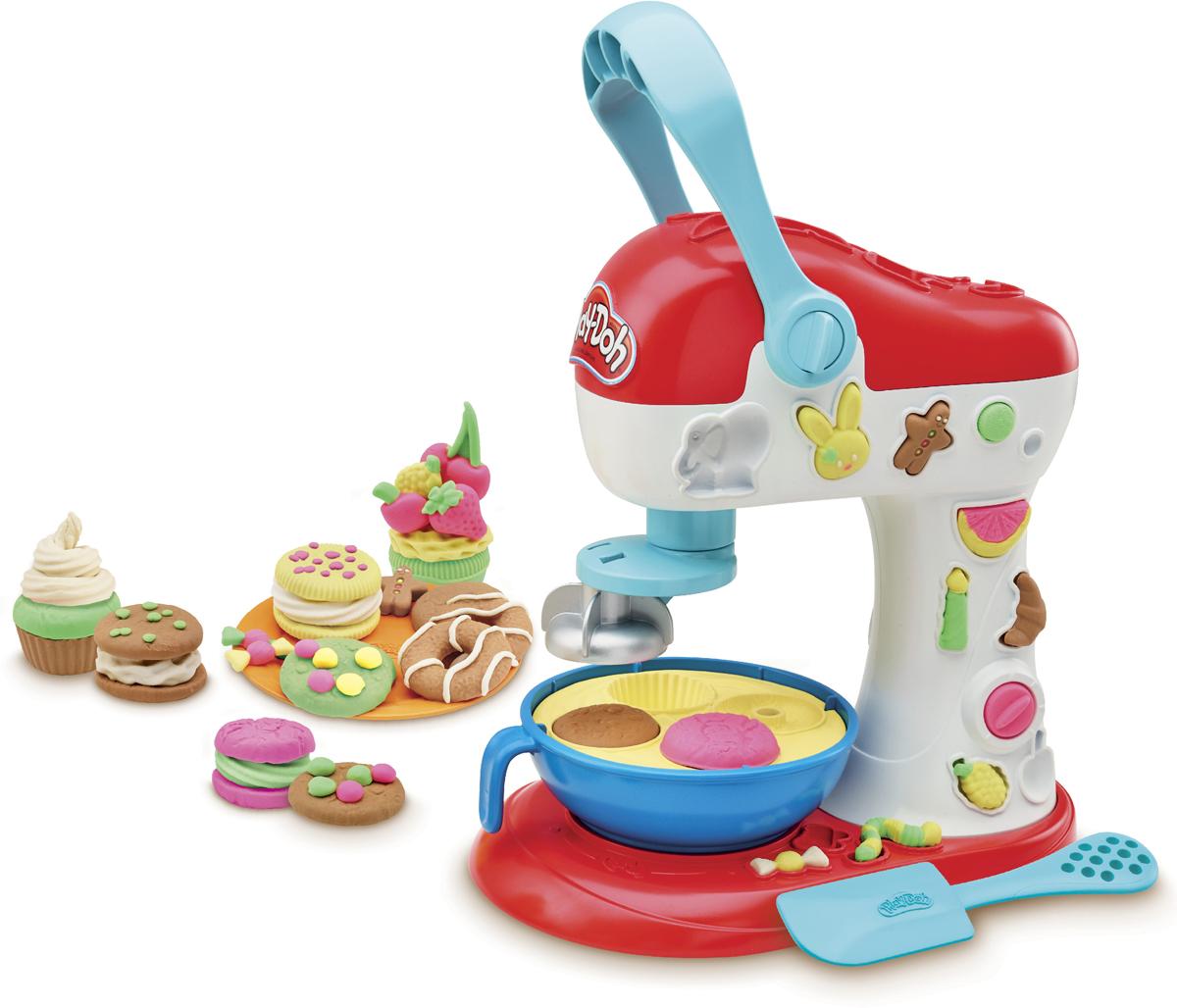 Игровой набор для лепки Play-Doh Kitchen Creations Миксер для конфет, E0102EU4 play doh play doh малыши динозаврики
