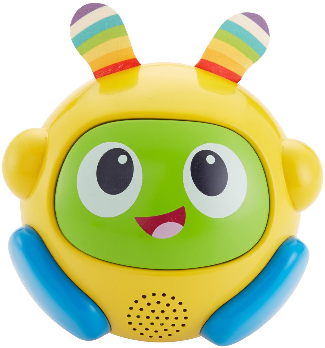 Fisher-Price Интерактивная игрушка Бибо Веселые ритмы цвет желтый зеленый голубой