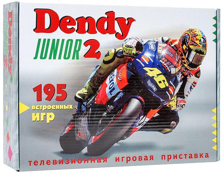 DVTech Dendy Junior 2игровая приставка 195 игр DVTech