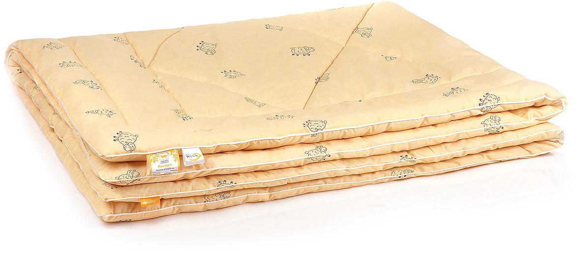 Одеяло Belashoff Ангора, стеганое легкое, цвет: бежевый, 200 х 220 см цена