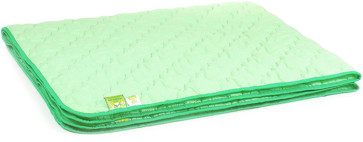 Одеяло Belashoff Бамбук-Эко, цвет: зеленый, 140 х 205 см