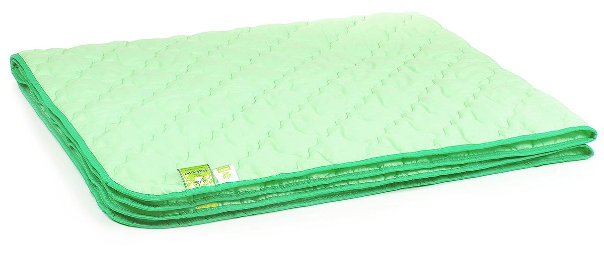 Одеяло Belashoff Бамбук-Эко, цвет: зеленый, 200 х 220 см цена