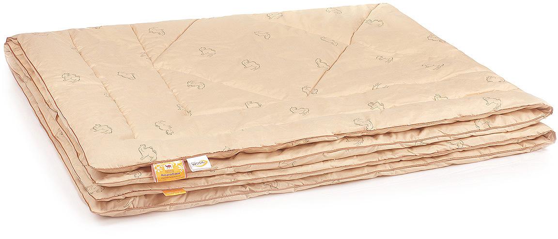 Одеяло Belashoff Караван, стеганое, цвет: бежевый, 200 х 220 см цена