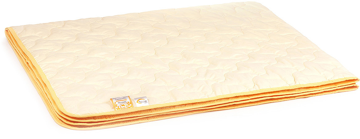Одеяло-плед Belashoff Летнее, цвет: бежевый, 200 х 220 см цена