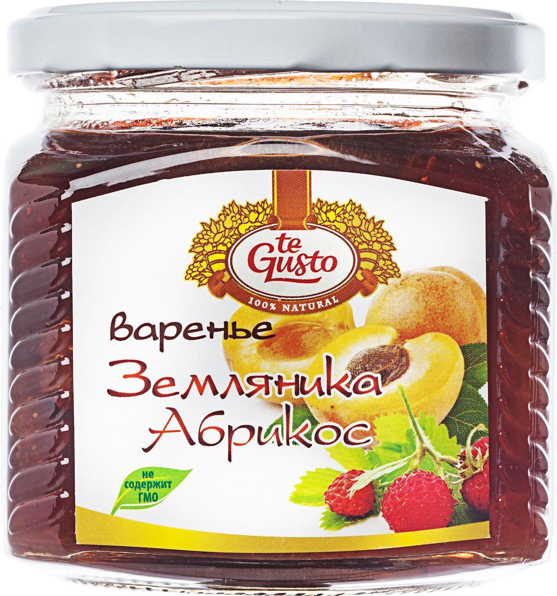 te Gusto Варенье из земляники и абрикоса, 470 г