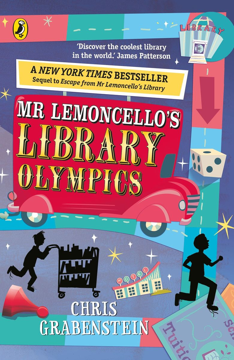 Mr Lemoncello's Library Olympics mr monk and the new lieutenan