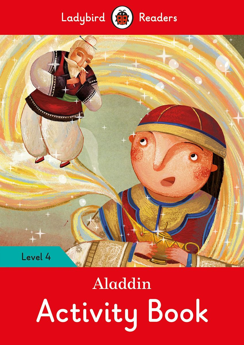 Aladdin Activity Book - Ladybird Readers Level 4 фруктовница regent inox trina 33 31 см