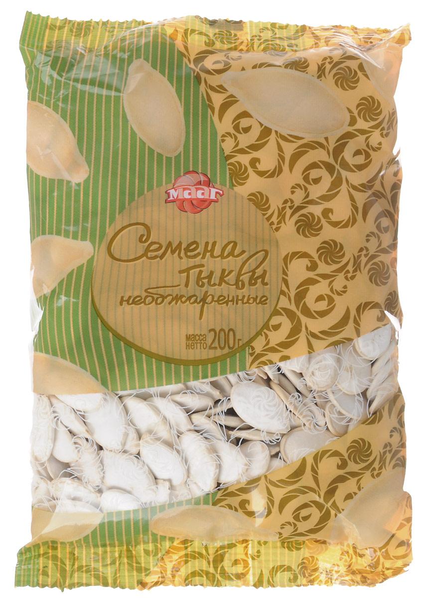 МААГ семена тыквы необжаренные, 200 г цена