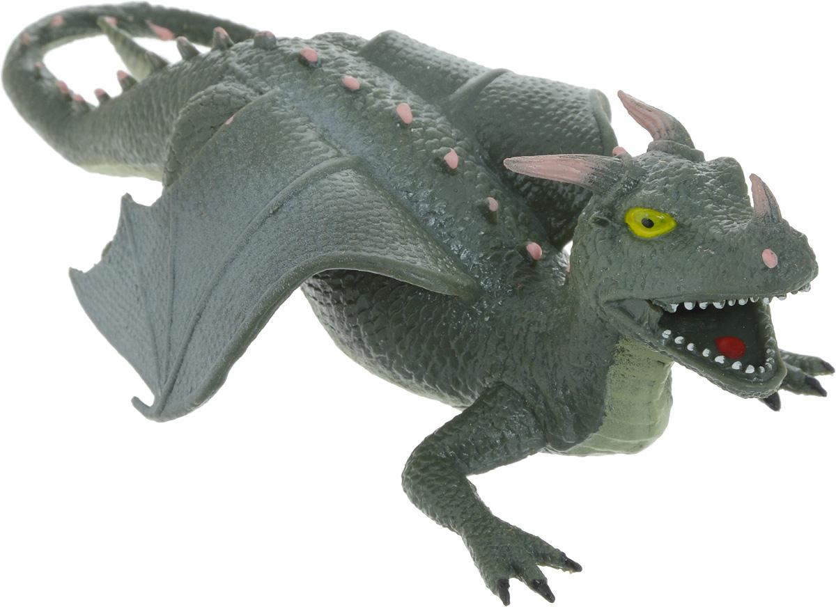 цена на Играем вместе Фигурка Дракон-тянучка цвет: зеленый