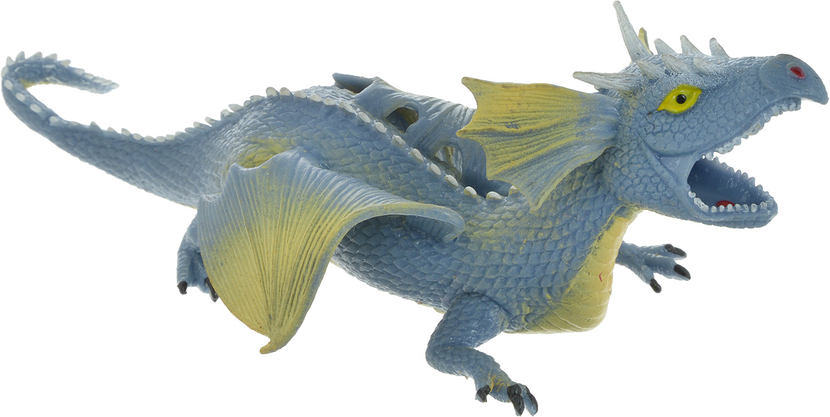 Играем вместе Фигурка Дракон-тянучка цвет синийA038P/B_синийИграем вместе Фигурка Дракон-тянучка цвет синий
