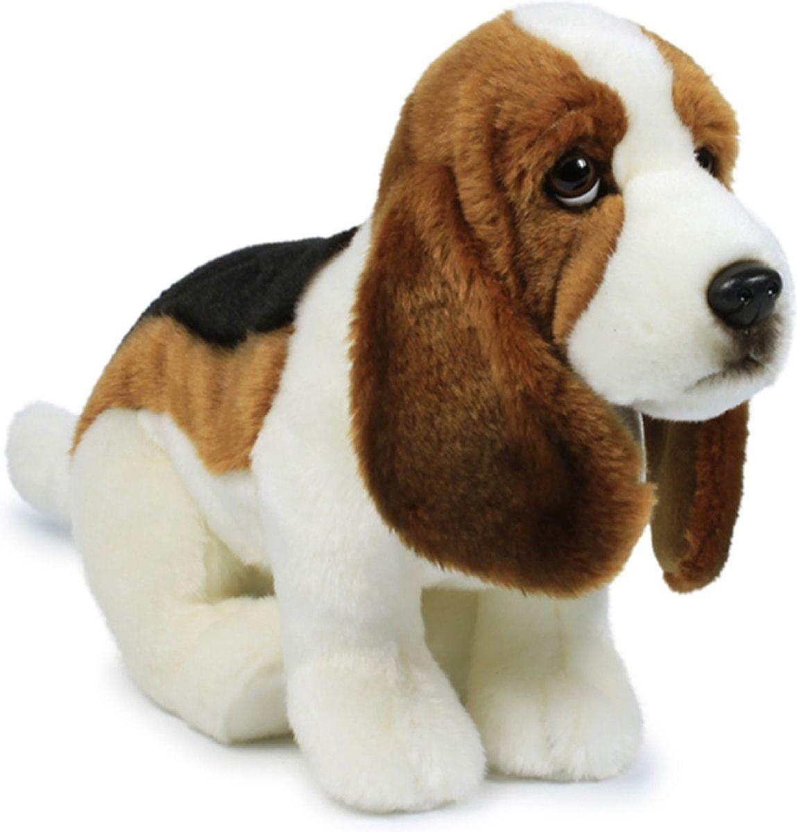 Anna Club Plush Мягкая игрушка Бассет-хаунд 30 см anna club plush мягкая игрушка кот сибирский серый 25 см