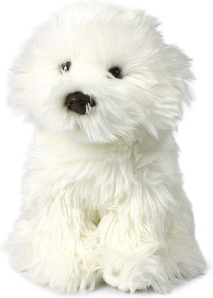 Anna Club Plush Мягкая игрушка Мальтийская болонка 18 см комбинезон тузик утепленный мальтийская болонка кобель