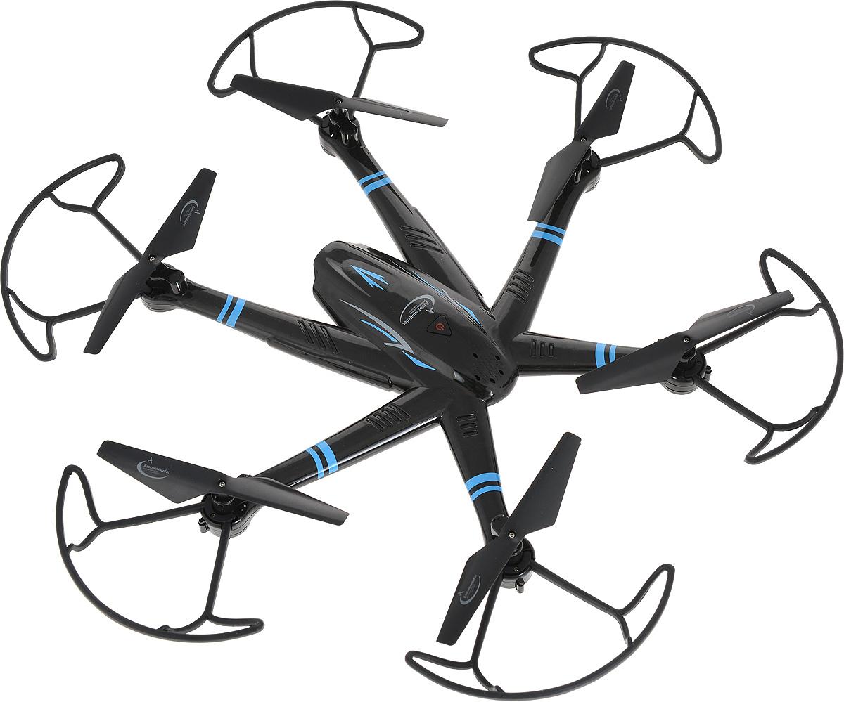 Властелин небес Квадрокоптер на радиоуправлении Гексалет цвет черный