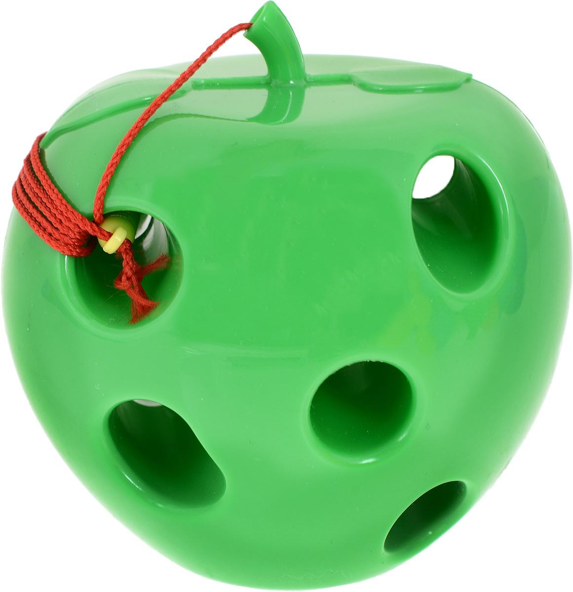 Пластмастер Игра-шнуровка для малышей Яблоко цвет зеленый игра пластмастер ланч 21029